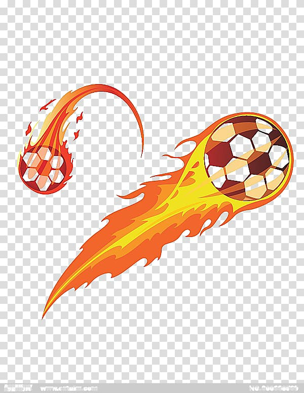 Soccer ball with flames clipart graphic free stock Flaming soccer ball illustration, Soccer fire transparent ... graphic free stock