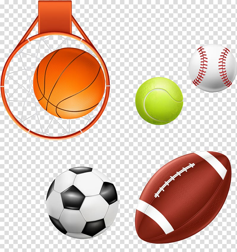 Basketball Baseball Ball game Football, ball games baseball ... graphic library stock