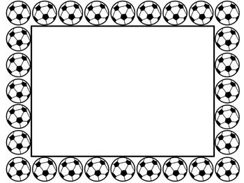Soccer border clipart image free download Soccer Border | Clipart Panda - Free Clipart Images image free download