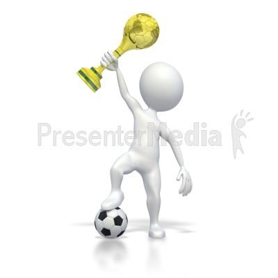 Soccer champion clipart black and white download World Cup Soccer Clip Art PresenterMedia Blog black and white download