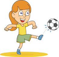 Free Kick Cliparts, Download Free Clip Art, Free Clip Art on ... jpg black and white library