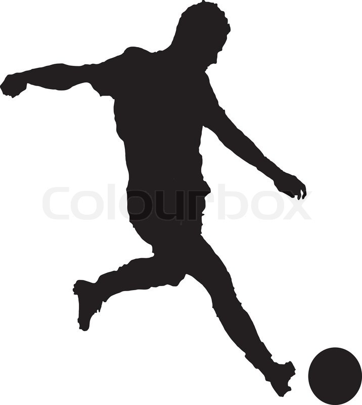 Soccer clipart vector image black and white library Soccer vector clipart 6 » Clipart Station image black and white library