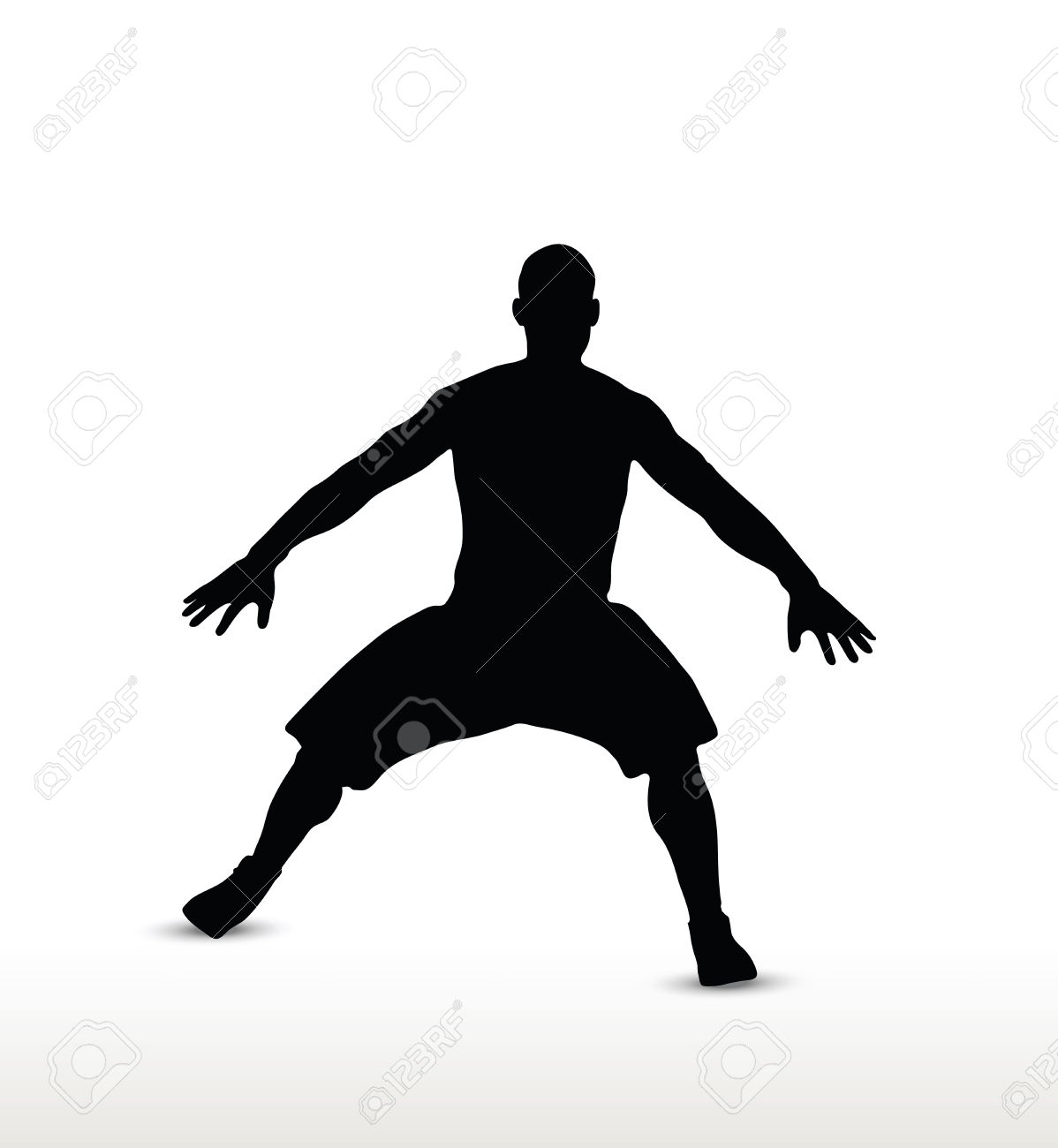 Soccer defending clipart clip black and white Defense Clipart Group with 30+ items clip black and white