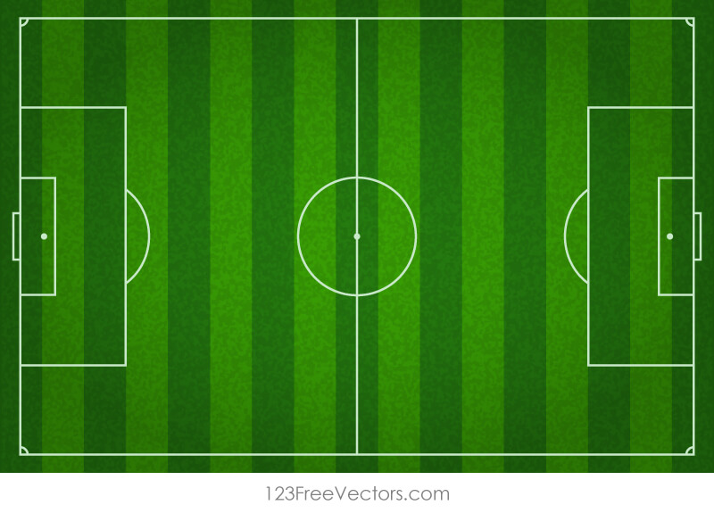 Soccer field background clipart clip black and white download Soccer Field Background | free vectors | UI Download clip black and white download