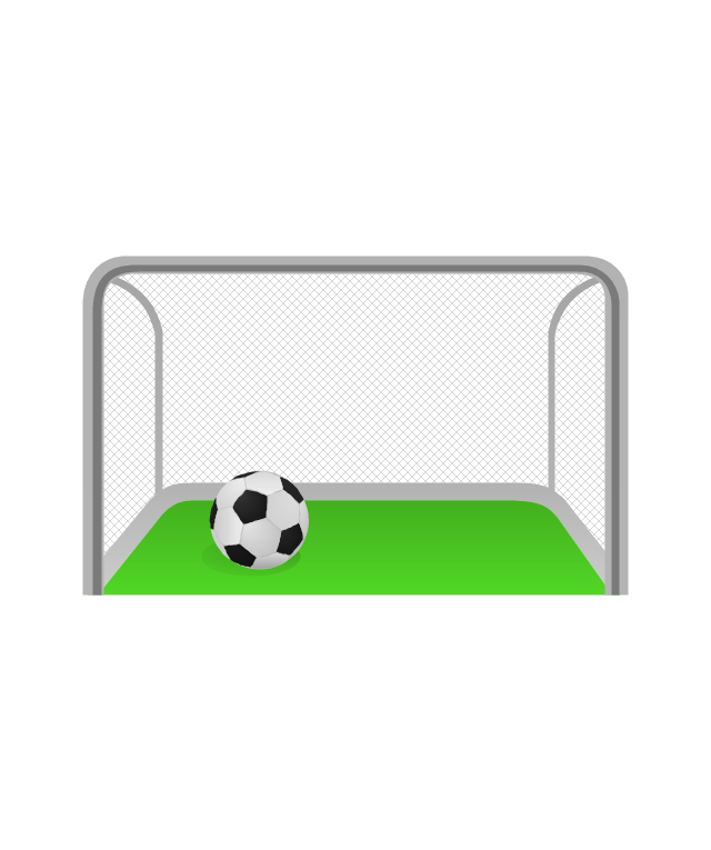 Soccer goal post clipart png library stock Collection of Goal clipart | Free download best Goal clipart ... png library stock