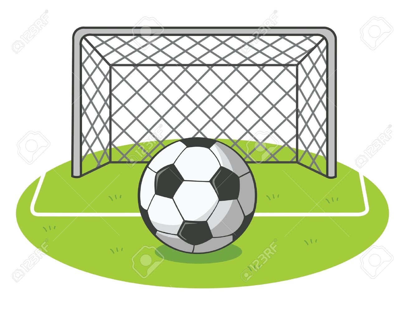 Soccer goal post clipart graphic black and white download Field Goal Clipart | Free download best Field Goal Clipart ... graphic black and white download
