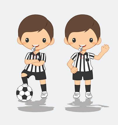 Soccer ref clipart graphic transparent stock Illustration of Soccer Referee premium clipart - ClipartLogo.com graphic transparent stock