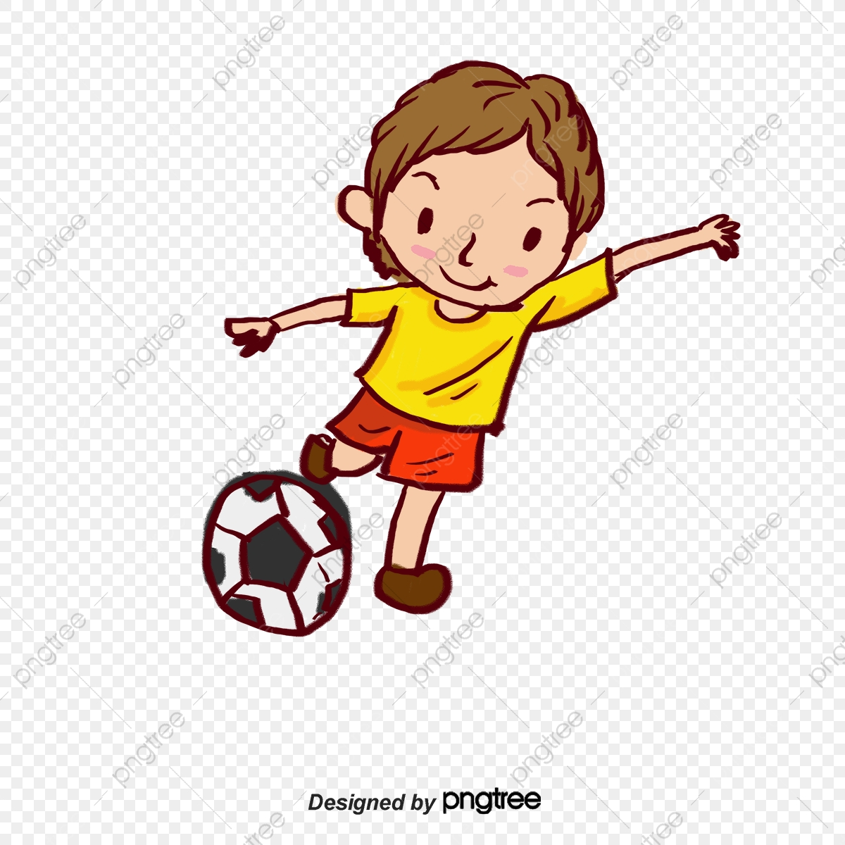Shooting Boy, Boy Vector, Boy Clipart, Football PNG and ... png freeuse