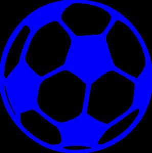 Soccerball clipart banner library Blue Soccer Ball Clip Art at Clker.com - vector clip art ... banner library