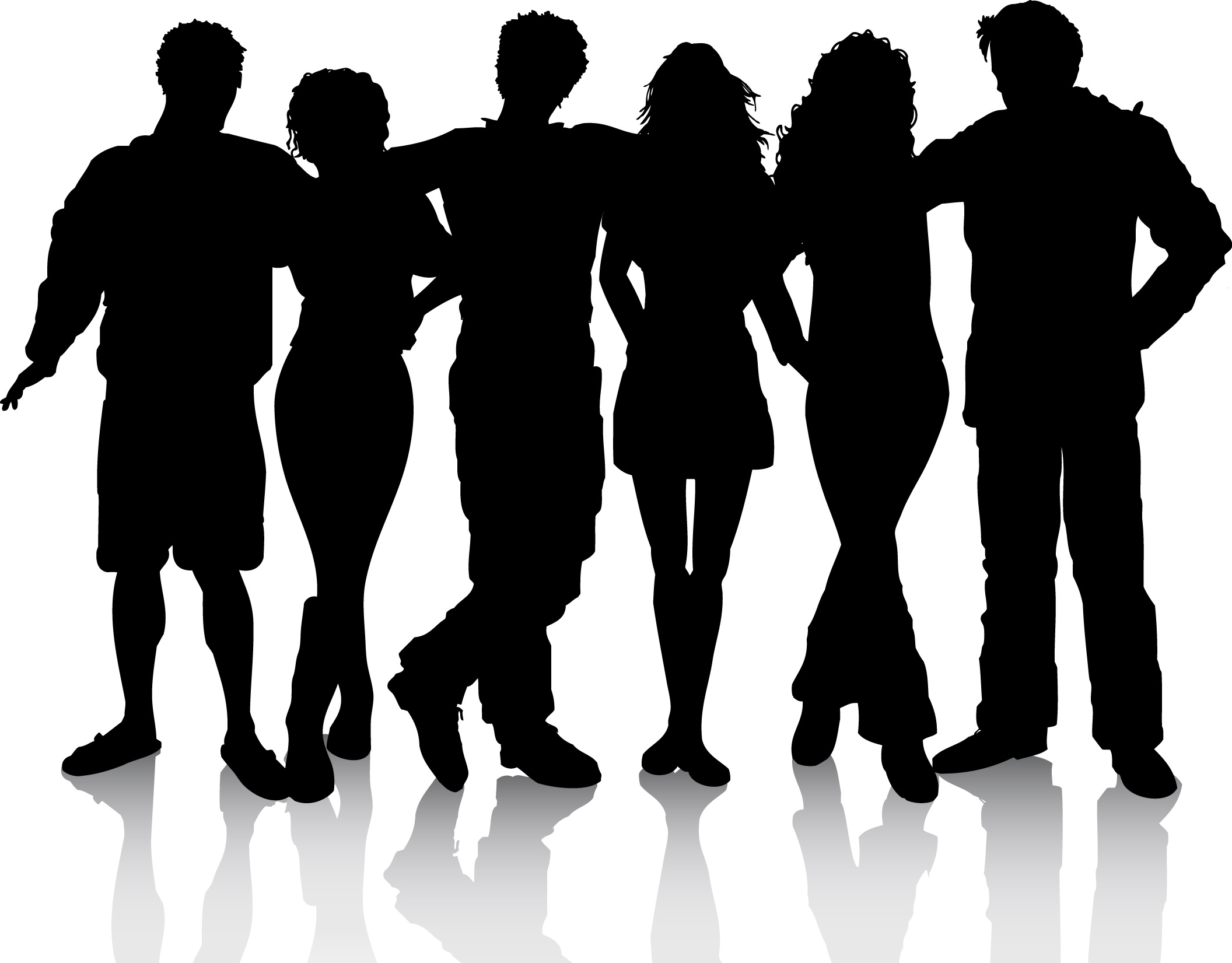 Social clipart image black and white download Free Clip art of Social Clipart #3761 Best Social Network Clipart ... image black and white download