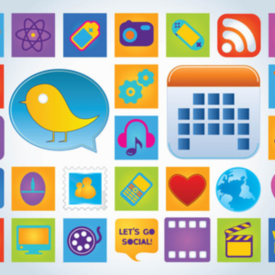 Social icon pack clipart picture royalty free Web Icon Pack | FreeVectors picture royalty free