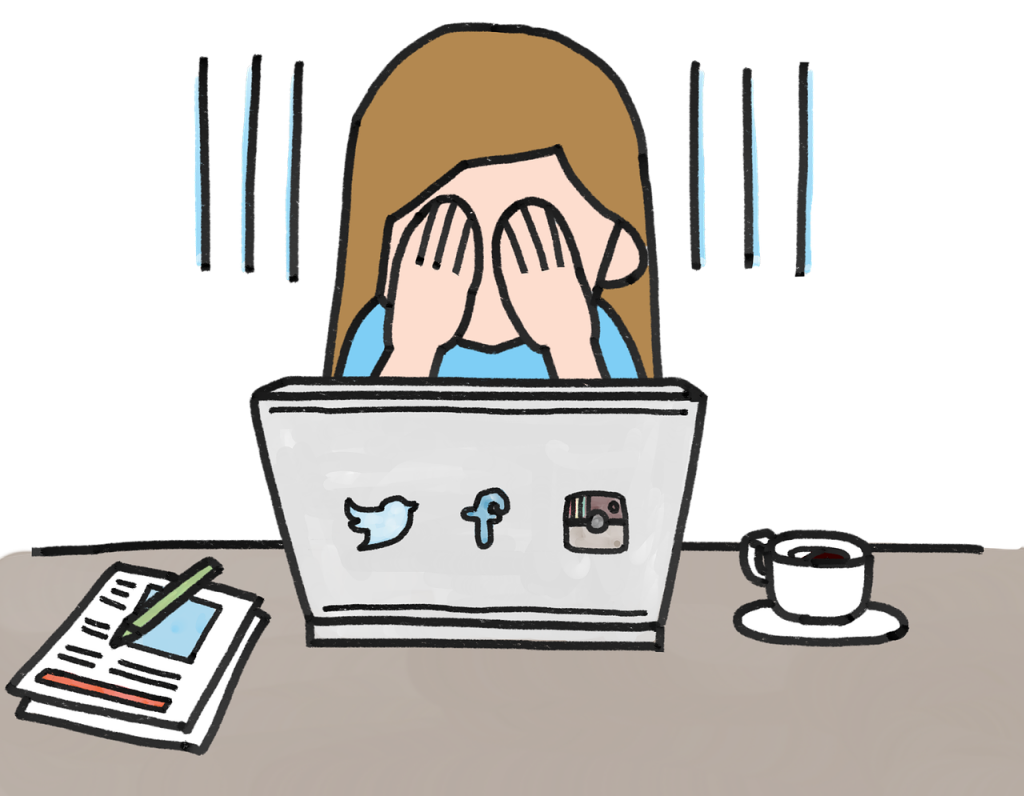 Social media addiction clipart png library download Faster EFT Helps in Getting Over Social Media Addiction ... png library download