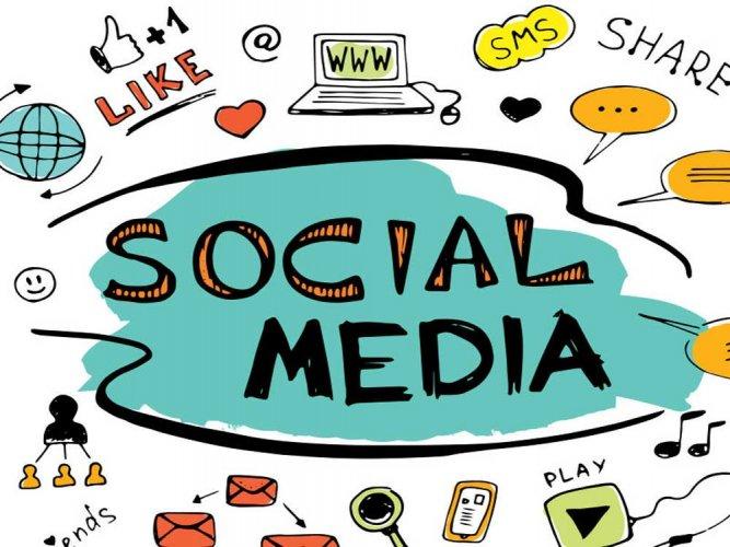 Social media addiction clipart jpg transparent download The good and bad of social media | Deccan Herald jpg transparent download