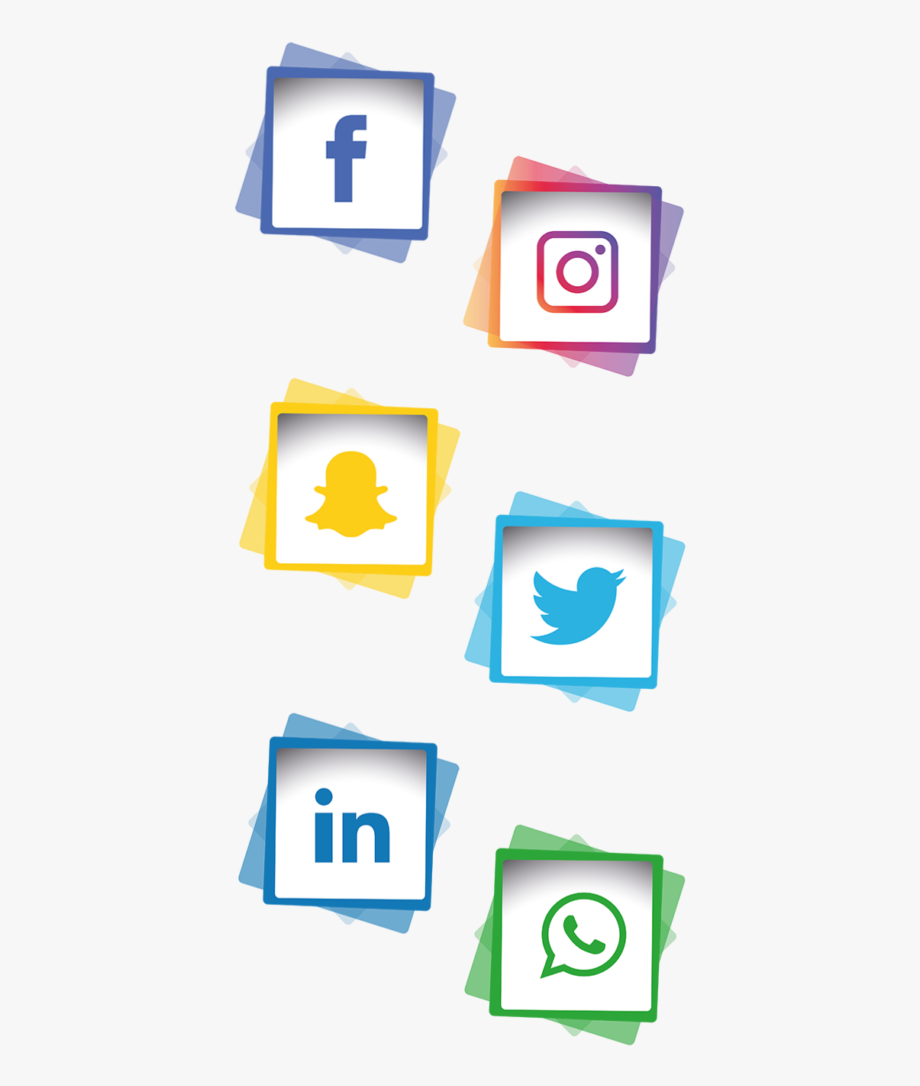 Social media bar clipart picture Social Media Icons - Social Media Bar Png #1540933 - Free ... picture