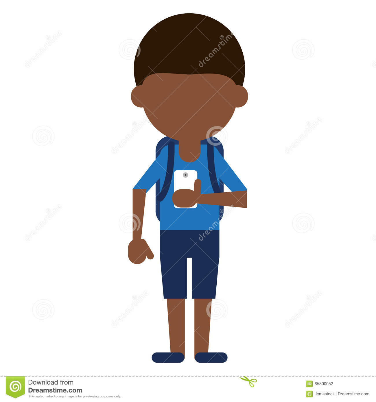 Social media cell phone photo clipart banner freeuse library Young Boy Looking Cellphone Social Media Stock Vector - Image ... banner freeuse library