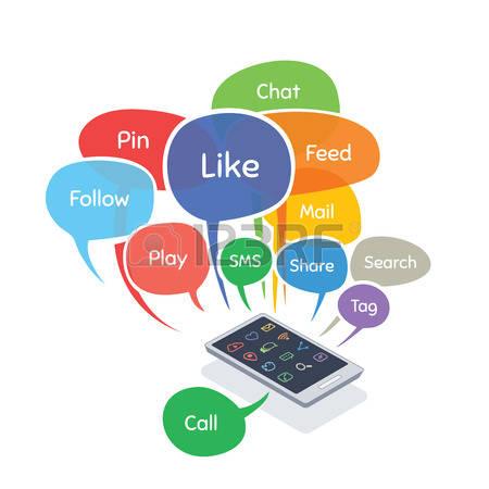 Social media clip art png royalty free stock 256,548 Social Media Stock Illustrations, Cliparts And Royalty ... png royalty free stock