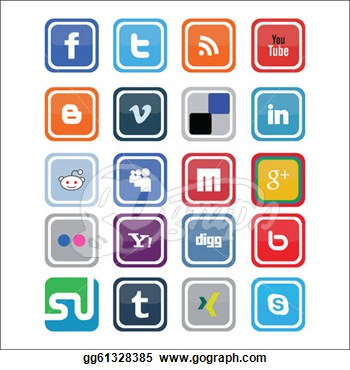 Social media clip art jpg freeuse download social media clipart – Clipart Free Download jpg freeuse download
