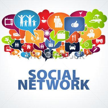 Social media clipart vector library Social Media Communication Clip Art – Clipart Free Download vector library