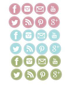 Social media clipart banner freeuse stock Social media clipart pack - ClipartFest banner freeuse stock