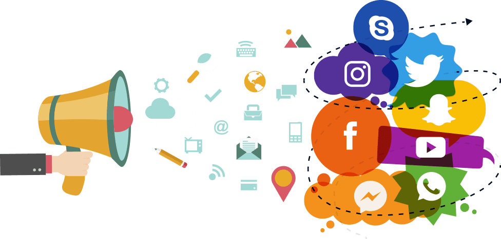 Social media clipart image freeuse library Social Media Advertising, Social Media Marketing Agency image freeuse library