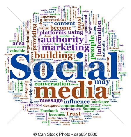 Social media clipart banner freeuse stock Social clipart free - ClipartFest banner freeuse stock