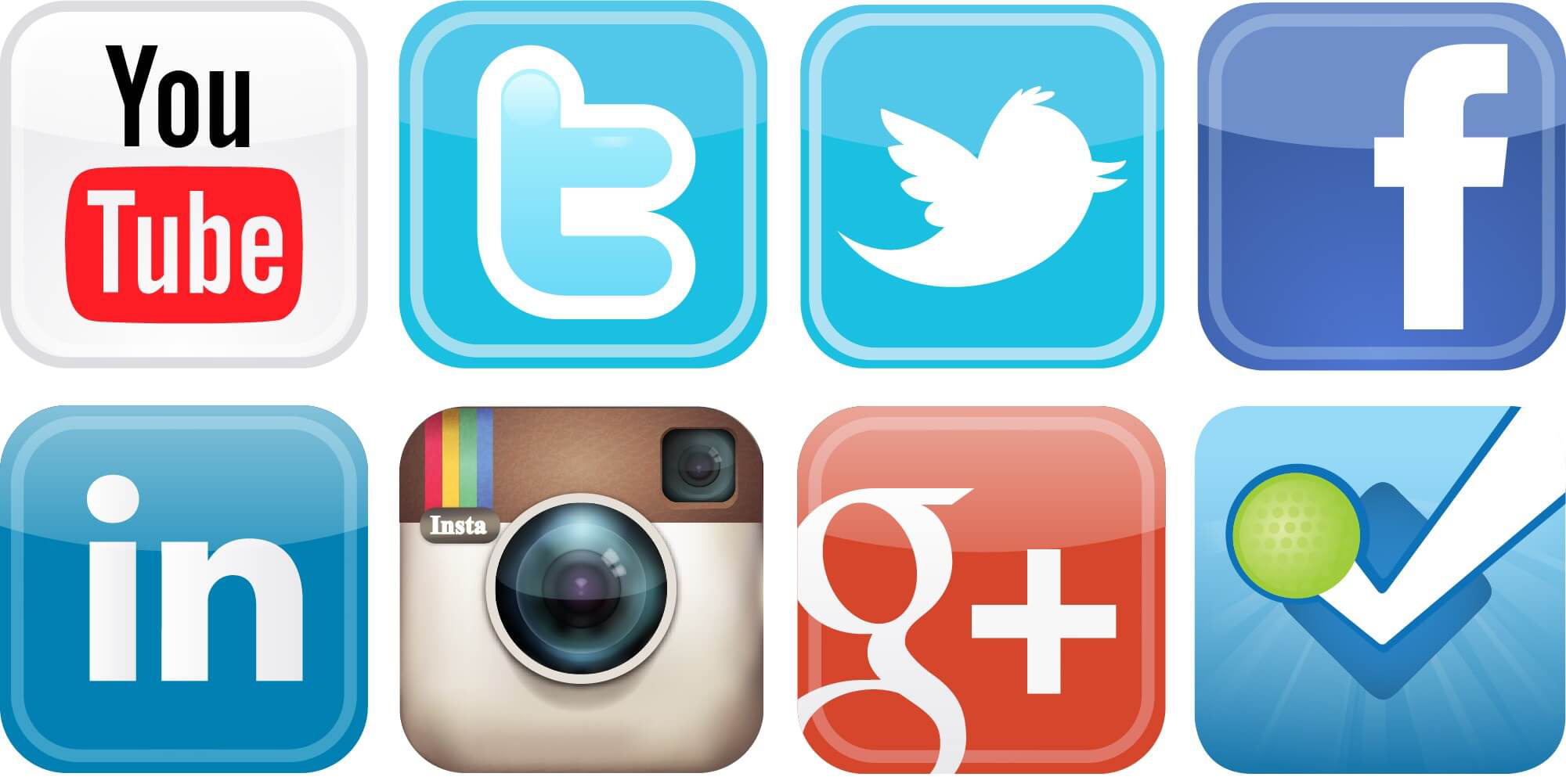 Social media icon clipart