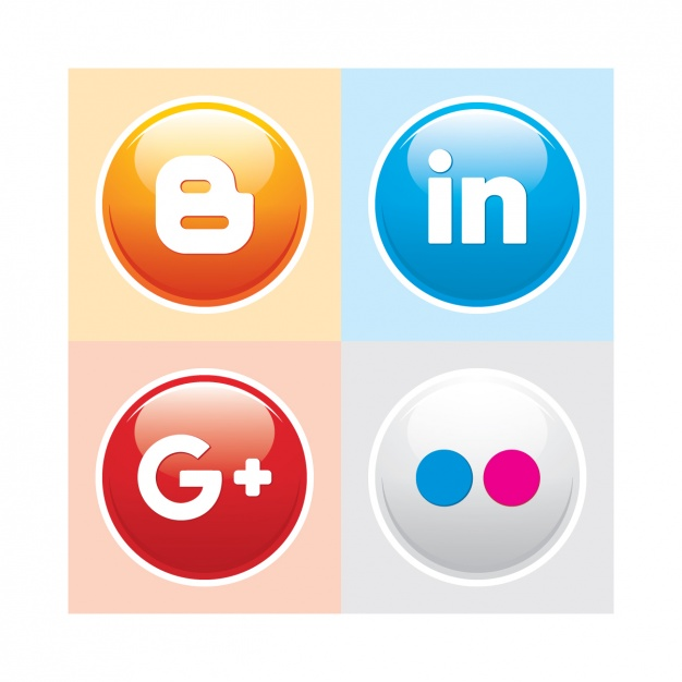 Social media clipart pack clipart freeuse Social media button pack Vector | Free Download clipart freeuse