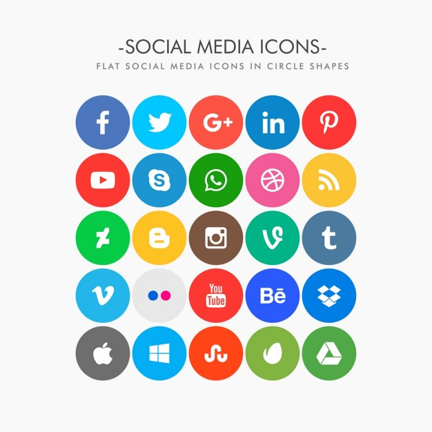 Social media clipart pack clip library download Social media clipart packs - ClipartFest clip library download