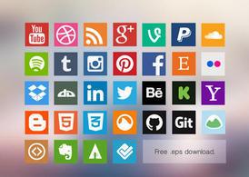 Social media clipart packs jpg freeuse Vector Clipart Files   Vector Files jpg freeuse
