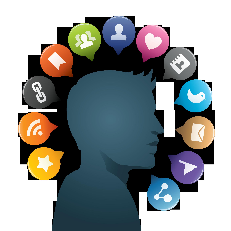 Social media clipart png png transparent Social Media PNG Transparent Images | Free Download Clip Art ... png transparent