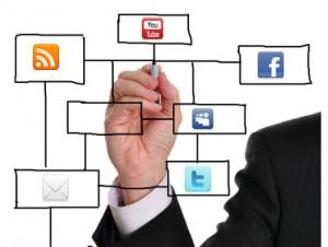 Social media clipart png clip transparent library Social Media Plan X | Free Images at Clker.com - vector clip art ... clip transparent library
