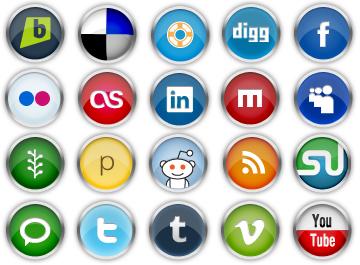 Social media clipart png banner stock Social Media Clip Art, Vector Social Media - 622 Graphics - Clipart.me banner stock