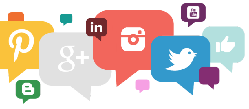 Social media clipart png picture royalty free Social Media PNG Transparent Images | Free Download Clip Art ... picture royalty free