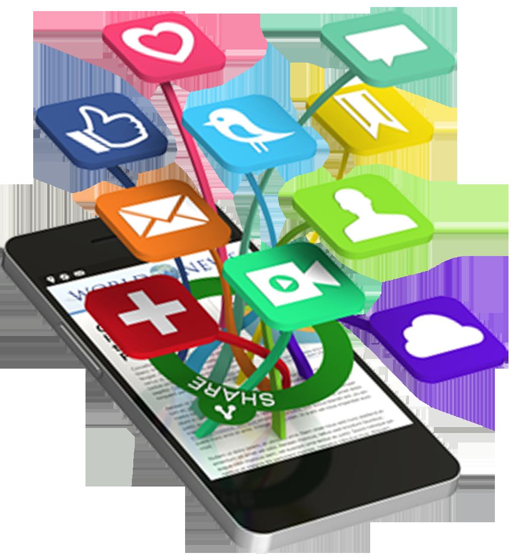 Social media clipart png no background clip freeuse download Social Network Links - David Coleman Speaks clip freeuse download