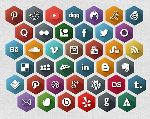 Social media clipart png no background clip 35 Best Free Social Media Icons Sets for High Quality Websites clip