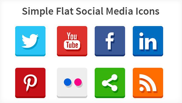 Social media clipart set png library Social Media Logo Clipart - Clipart Kid png library