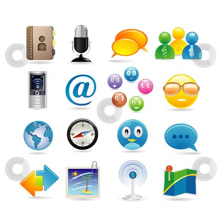 Social media clipart set black and white download Social Media Icon Clipart - Clipart Kid black and white download