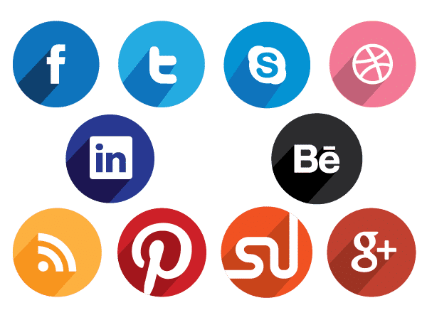 Round social media icons clipart images gallery for free ... graphic freeuse download