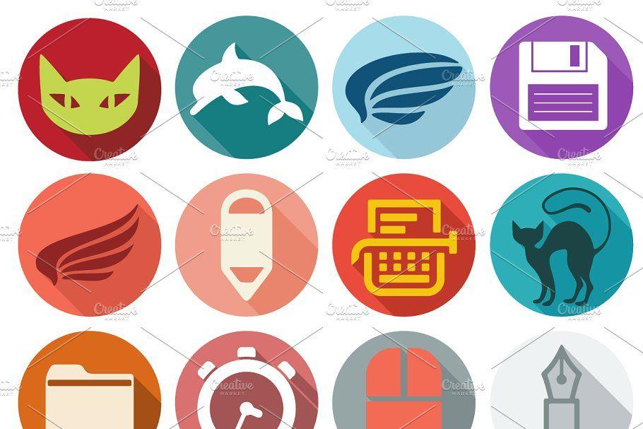 72 VETERINARY flat icons #VETERINARY#flat#Icons#icons ... clip transparent stock