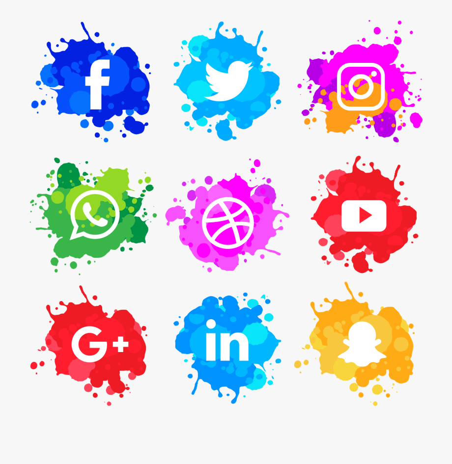 Social media logo clipart transparent image black and white social\' Is Very Important For Your Business, That\'s - Social ... image black and white