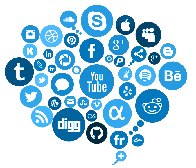 Social media free clipart picture freeuse download Free Social Media PNG Transparent Images, Download Free Clip ... picture freeuse download