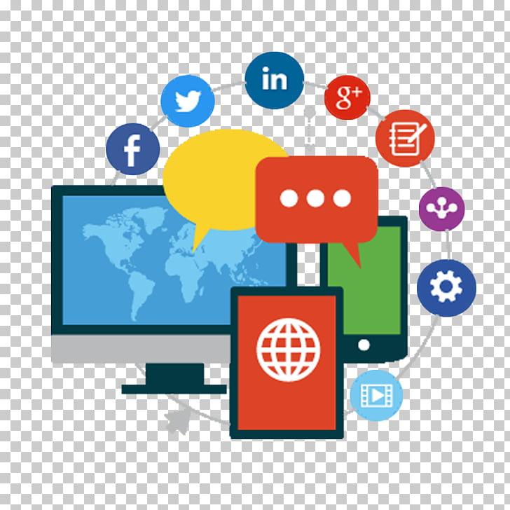 Social media free clipart transparent stock Social media marketing Digital marketing Business, social ... transparent stock