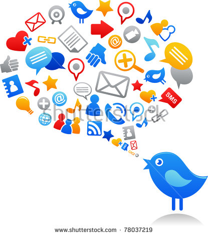 Social media icon clipart transparent download Social Media Icons Stock Images, Royalty-Free Images & Vectors ... transparent download