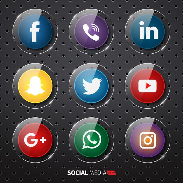 Social media icon clipart clip art free library Social media icons clip art free vector download (214,520 Free ... clip art free library