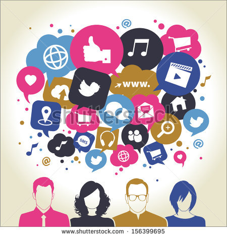 Social media icons clipart jpg download Social Media Icons Stock Images, Royalty-Free Images & Vectors ... jpg download