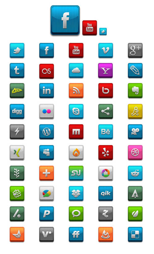 Social media icons clipart graphic free Free Social Media Clipart graphic free