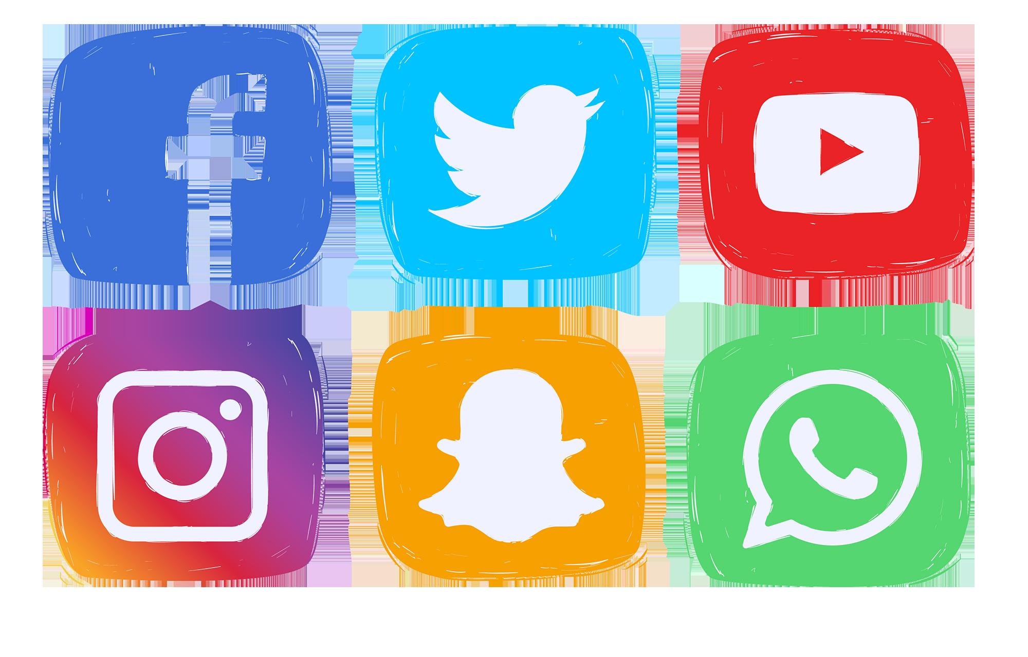 Social media icons clipart clip art download Social media Computer Icons Social network Clip art - sociales 2000 ... clip art download