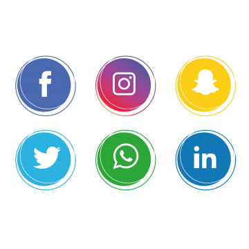 Social media icons clipart hd vector freeuse download Free vector social media icons clipart images gallery for ... vector freeuse download