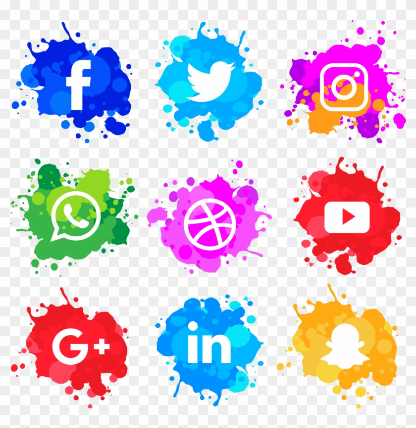 Social media icons clipart hd png freeuse download social\' Is Very Important For Your Business, That\'s - Social ... png freeuse download