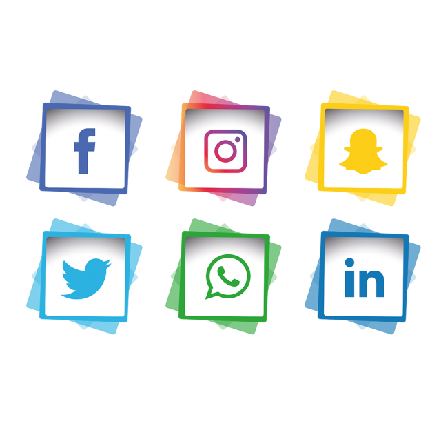 Social media icons clipart instagram banner royalty free download Social Media Icons Set, Social Media Icons, Icons, Social ... banner royalty free download